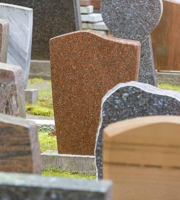 funeral headstones